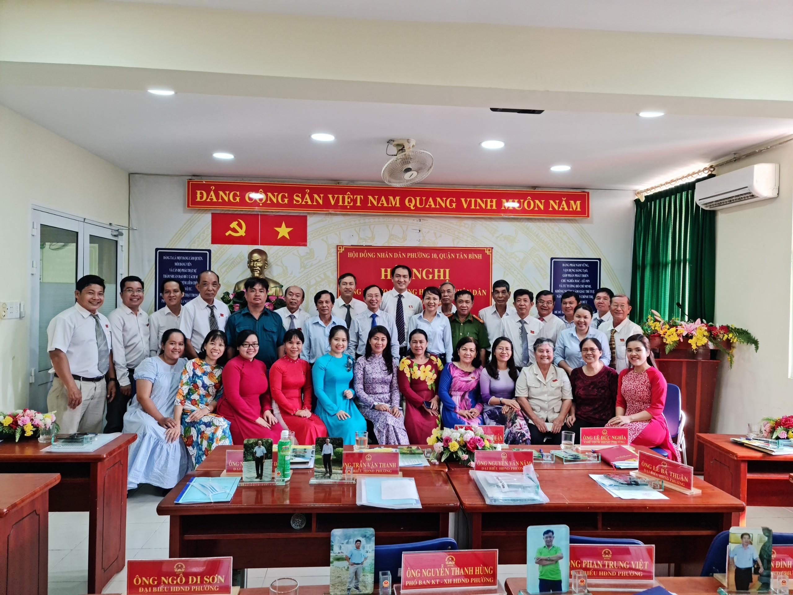 Tổng kết hoạt động của Hội đồng nhân dân Phường 10, nhiệm kỳ 2016 – 2021
